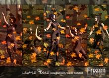 Frozen - Autumn Leaves Poses