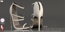 -DG- Duncan Giano - Vera in White (Slink High Feet, Belleza Venus Mesh Body and The Shops Ouch Feet)