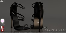 -DG- Duncan Giano - Vera in Black (Slink High Feet, Belleza Venus Mesh Body and The Shops Ouch Feet)