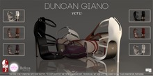 -DG- Duncan Giano - Vera All Colours (Slink High Feet, Belleza Venus Mesh Body and The Shops Ouch Feet)