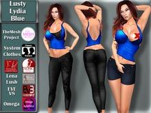 [TKS] BASIC -  Lusty Lydia Blue