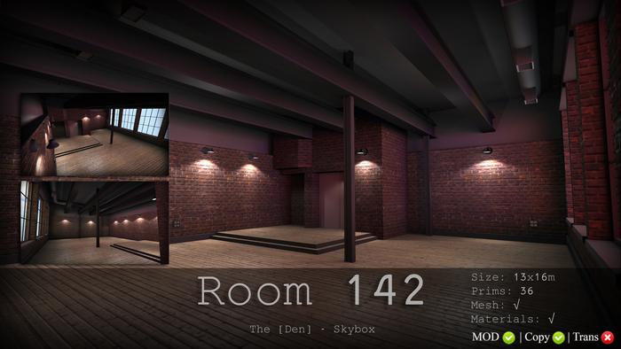 Room 142 - The [Den.] Skybox 50% SALE