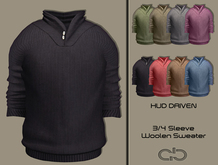 .Atelier. Andy HUD Driven Woolen Sweater