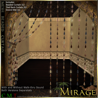 =Mirage= Mesh Beaded Curtains