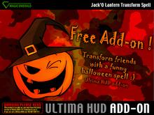 *Ultima HUD FREE ADD-ON*  Jack'O Lantern Spell