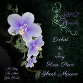 NSP Orchid & Ivy Hair Piece Ghost Mauve boxed