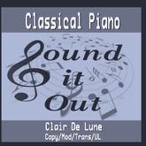 *SIO* Classical Piano - Clair De Lune