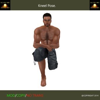 Kneel Pose one