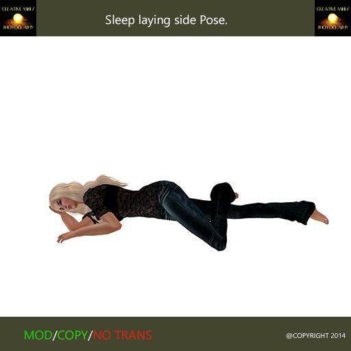 Sleep Laying Side - Pose