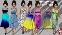 VHD 50's Tea-Length Dresses (set 1, boxed)