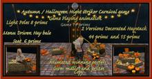 Autumn / Halloween High Striker Carnival Game
