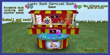 Lucky ducky Carnival duck game