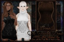 :[P]:-Farahna Dress:// Brown