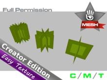 KUBRIC FLUX - Full Perm - Plant Panels - 3 Versions - Pack 01