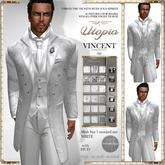 Utopia Vincent Tie white