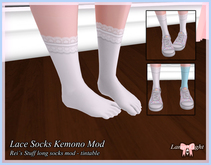 Lamp*Light - Kemono Rei's Socks Lace Mod