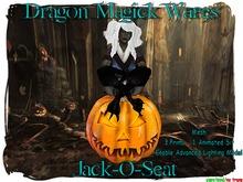 Dragon Magick Wares Mesh Jack-O-Seat Halloween Chair