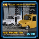 (AAI) Airport Management Truck
