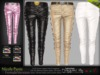 MESH Nicole Female Leather Pants * Rigged (HUD Driven) *DreamLife*