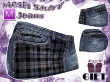 :: Millenaire Skirt Jeans Mesh :: GIFT