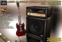 [DG] Mesh Electric Guitar PLUS Guitar Amplifier SET ~Angus~FULL PERMISSION~