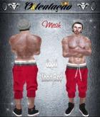:::OTC:::007 -Mesh Capri Shorts Red