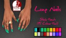 IAF Long Nails (Slink Hands) (Elegant 1)