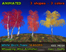 21strom: White Birch Trees SEASONS - animated mesh trees with wind
