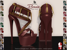 Bens Boutique - Bonnie High Heels - Slink High Feet - All Color