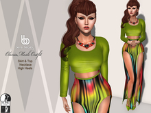 Bens Boutique - Olivia Mesh Outfit