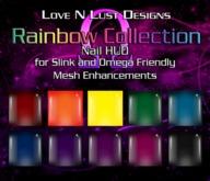 [LNL] Omega Nails - Rainbow Collection