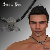 Skull & Bone Necklace for Men