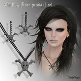 Skull & Bone Jewelry Set