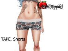 GIFT *-* [RED APPLE] - TAPE. Shorts