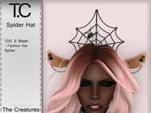 *T.C* Spider Hat (wear)