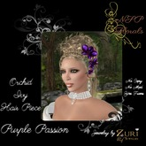 NSP Orchid & Ivy Hair Piece Frosted Pink boxed