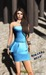 Babele Fashion :: Miranda Blue Cocktail Dress