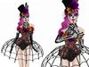 Boudoir Halloween-Los Muertos Burlesque