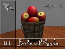 Bucket with Apples MT