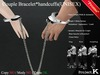 [PROMO] Project K couple Bracelet * handcuffs ( UNISEX )