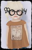 KiddyWinks [TD Clothing!] * You're My BOO! [pumpkin orange]