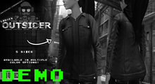 F.A.D. // Outsider Leather Jacket // Hoodie DEMO