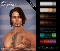 /Wasabi Pills/ Dylan MESH Hair - Complete Pack - DISCOUNTED