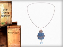 Potion Necklace - Blue