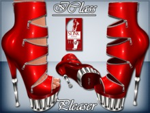! *IC* Pleaser For Slink High Heels_Red