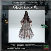 SaCaYa's Ghost Lady #1