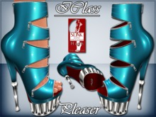 ! *IC* Pleaser For Slink High Heels_Electric Blue