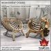 Trompe Loeil - Monserrat Chairs [mesh]