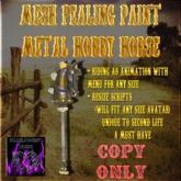 BBD - (BOX) - Mesh Pealing Paint Hobby Horse (Copy Version)