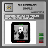 EMU Onlineboard -  shows online status of the owner or any other person